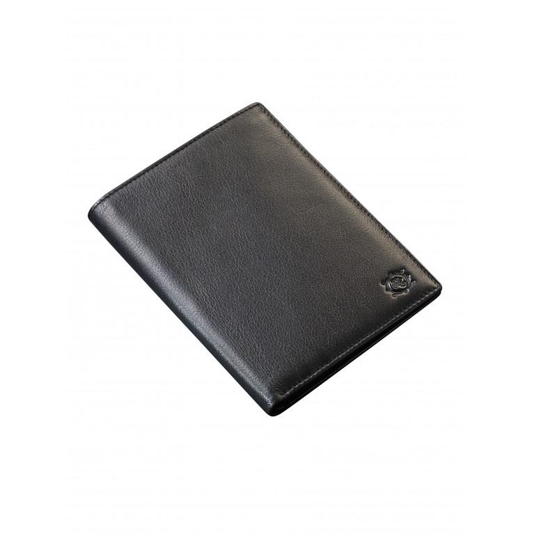 Бумажник из натуральной телячьей кожи