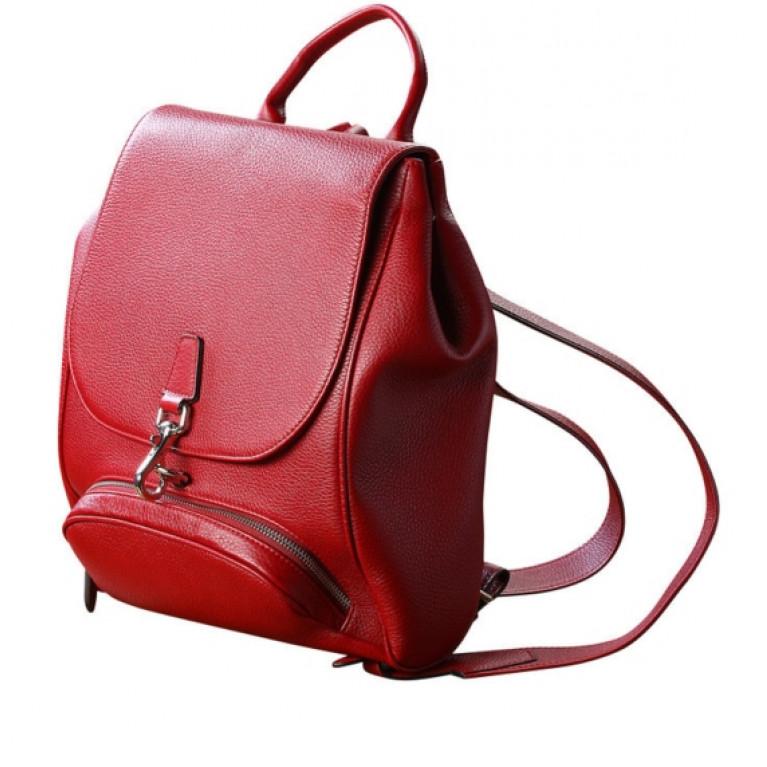 Женский рюкзак из натуральной телячьей кожи